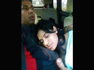 Gf Sucking Manstick Inwards Car Utter Vid. On Indiansxvideo . Com