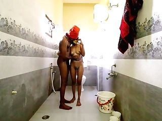 Tamil Indian Nymph Fucked In Bathroom